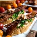 BLT Crostini with Boursin Cheese