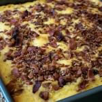 Bacon Topped Cornbread