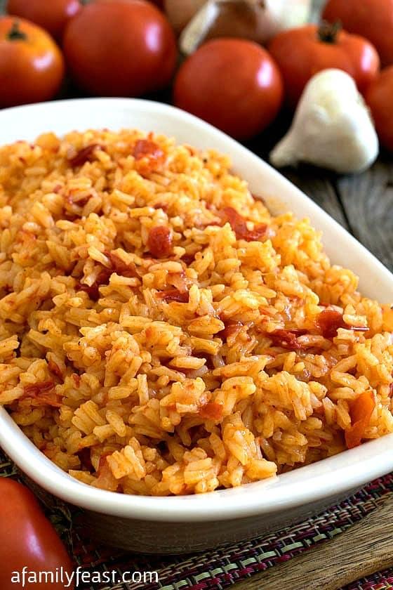 Portuguese Tomato Rice - A Family Feast