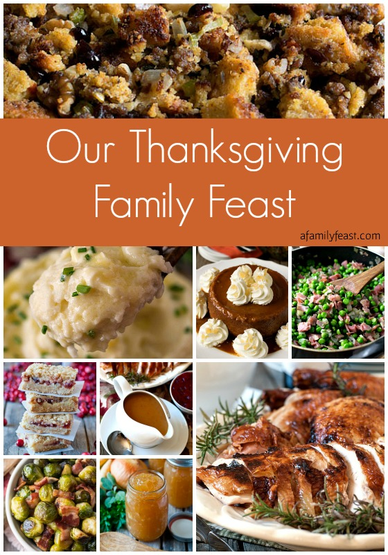 Our Thanksgiving Family Feast - A Family Feast