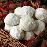 Coconut Snowball Cookies - A Family Feast