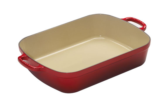 le-creuset-red-roasting-pan
