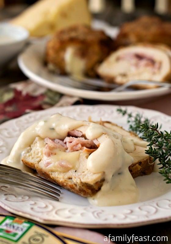 Chicken Cordon Bleu - A Family Feast