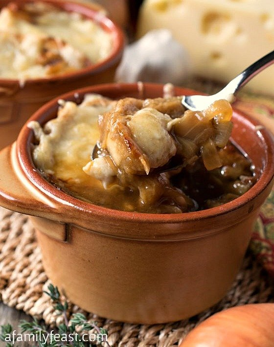 French Onion Soup - A Family Feast