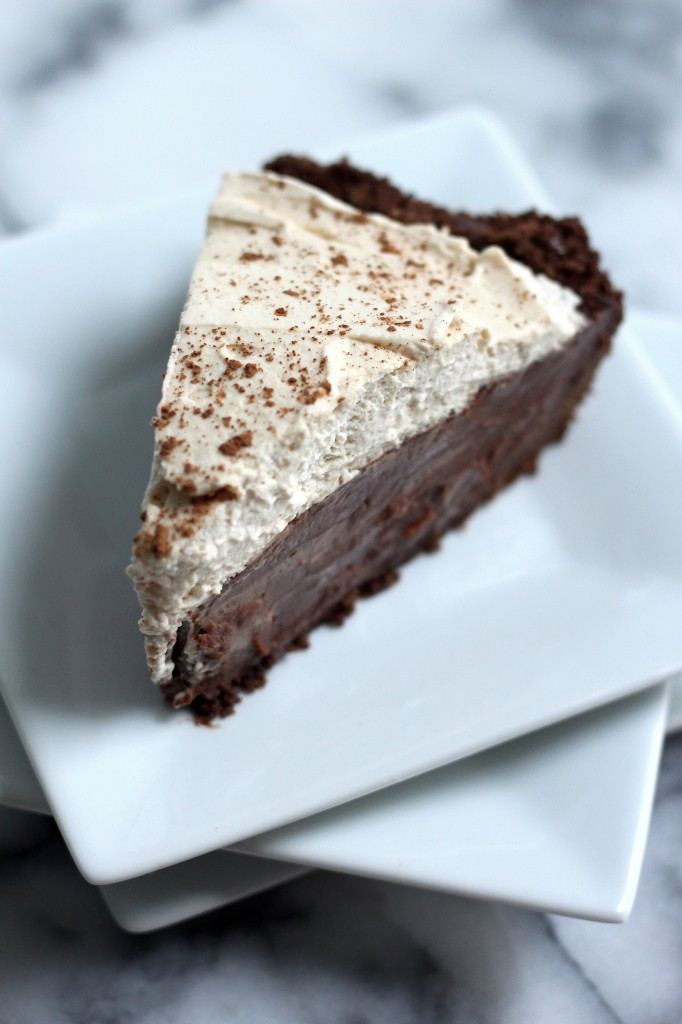 Malted Chocolate Pudding Pie - 30+ Recipes for Malted Milk Lovers