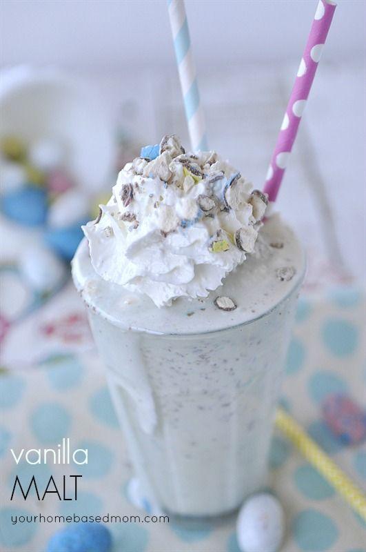 Vanilla Malt - 30+ Recipes for Malted Milk Lovers