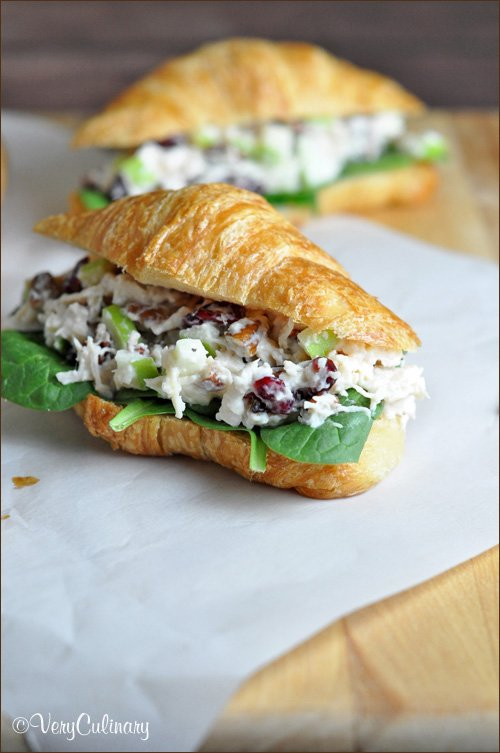 This Chicken Salad Sandwich recipe from Very Culinary is just one of over 20 delicious chicken salad recipes on A Family Feast