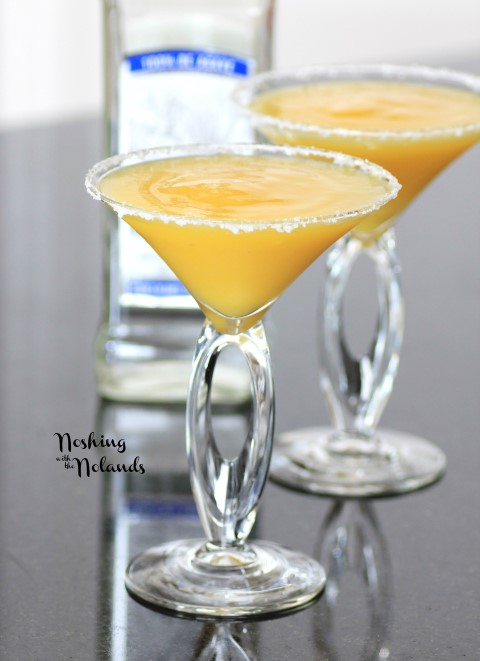 This frozen mango margarita is one of over 30 refreshing margarita recipes in a collection on afamilyfeast.com