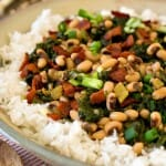 Hoppin' John with Kale - A Family Feast