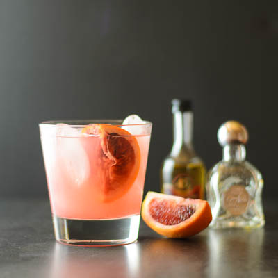 This kiss of light margarita is one of over 30 refreshing margarita recipes in a collection on afamilyfeast.com