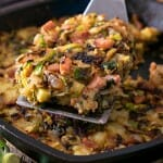 Bubble and Squeak with Ham