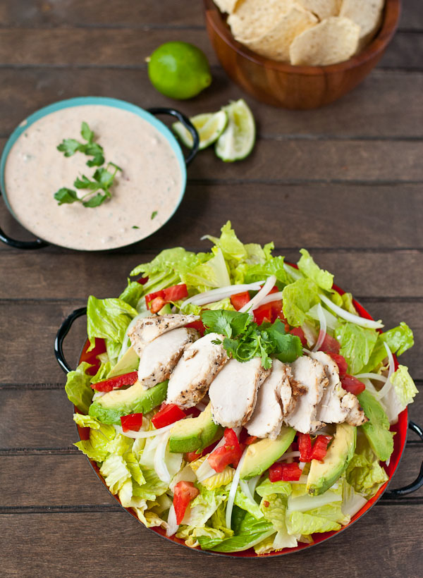 This Chicken Taco Salad from Neighborfood is just one of over 20 delicious chicken salad recipes on A Family Feast