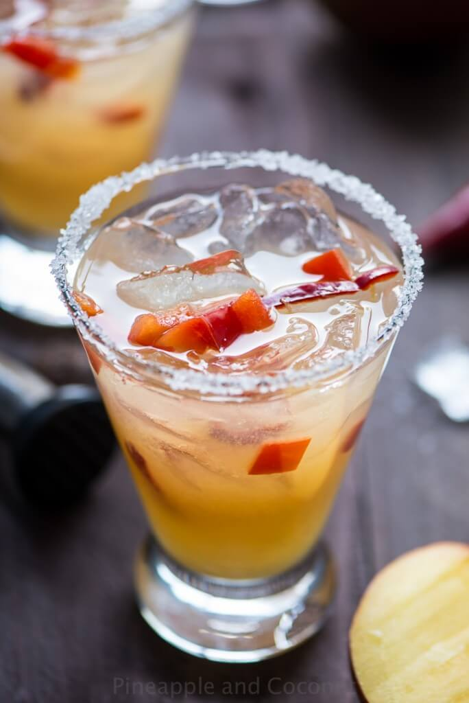 This chili pepper and mango margarita is one of over 30 refreshing margarita recipes in a collection on afamilyfeast.com