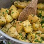 Herbed Boiled Potatoes
