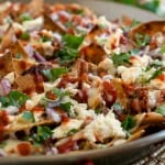Pulled Chicken Chilaquiles - A Family Feast