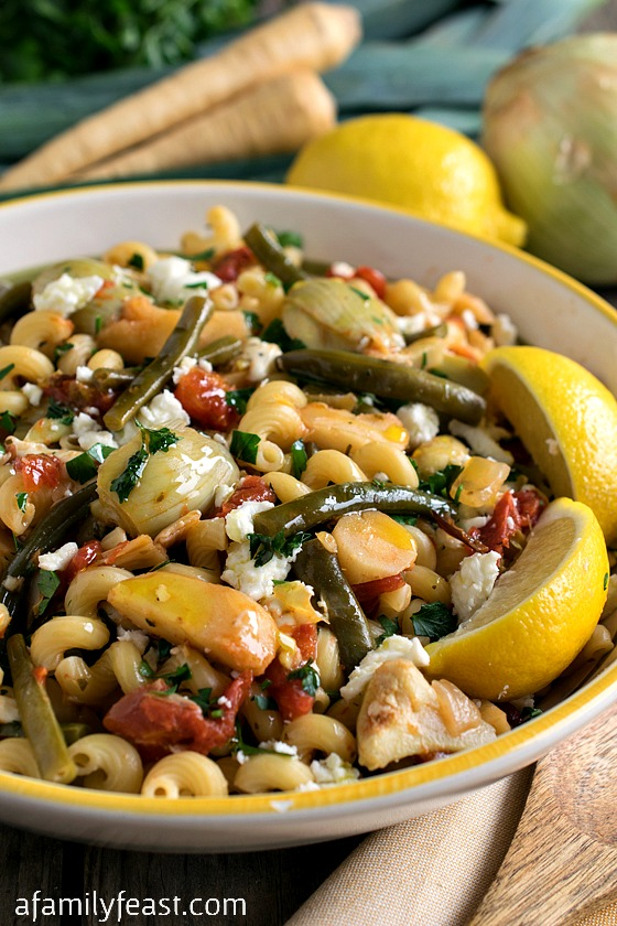 Primavera - A super flavorful vegetable and pasta dish with bright ...