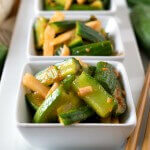 Korean-Style Marinated Cucumbers