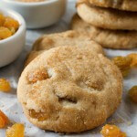 Nanny's Rum Raisin Sugar Cookies