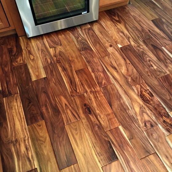 Our Kitchen Makeover New Hardwood Floors