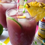 Pineapple Lime Rickey Punch