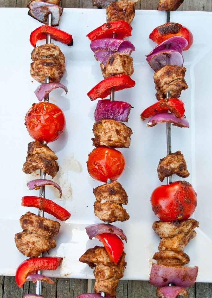25 Sensational Skewer Recipes, including these Chinese 5-Spice Chicken Skewers