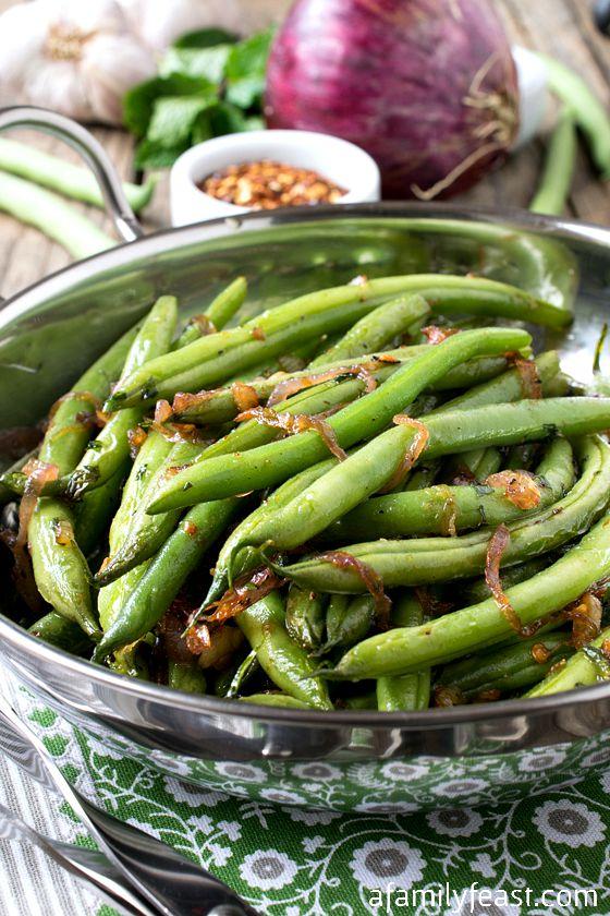 Mario Batali's Green Beans (Fagiollini in Padella) - A Family Feast