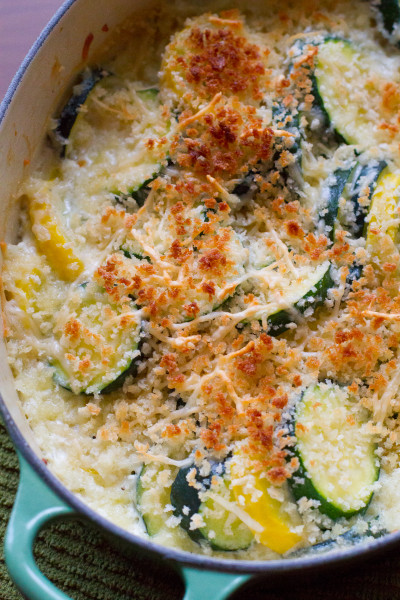 Zucchini Gratin - Over 30 delicious recipes to help you use up your bounty of garden zucchini. See the recipes on A Family Feast.