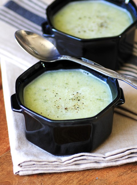 Zucchini Cheese Soup - Over 30 delicious recipes to help you use up your bounty of garden zucchini. See the recipes on A Family Feast.