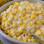 Slow Cooker Creamed Fresh Corn