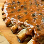 Barbecue Pork Ribs - A Family Feast