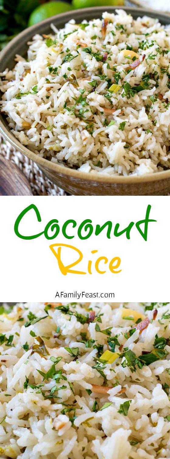 Coconut Rice A Family Feast