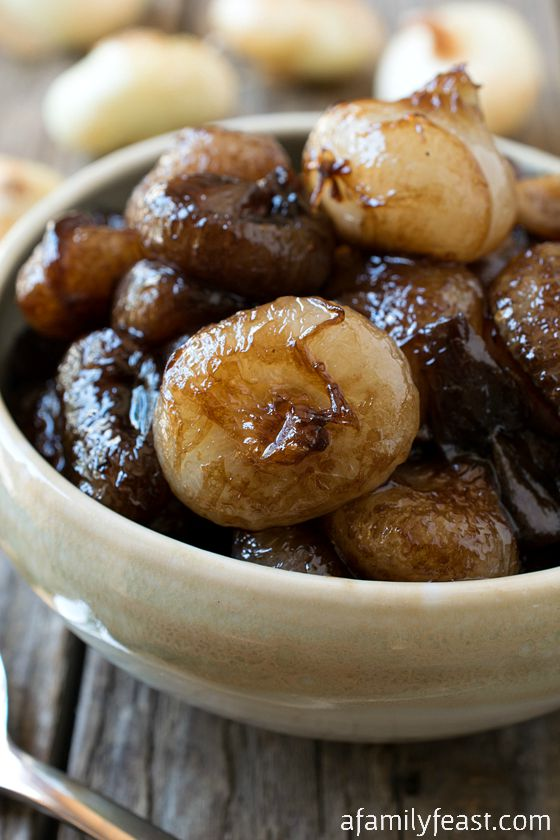 Sweet and Sour Balsamic Glazed Onions - A fantastic side dish to ...