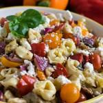Tortellini Salad with Roasted Vegetables