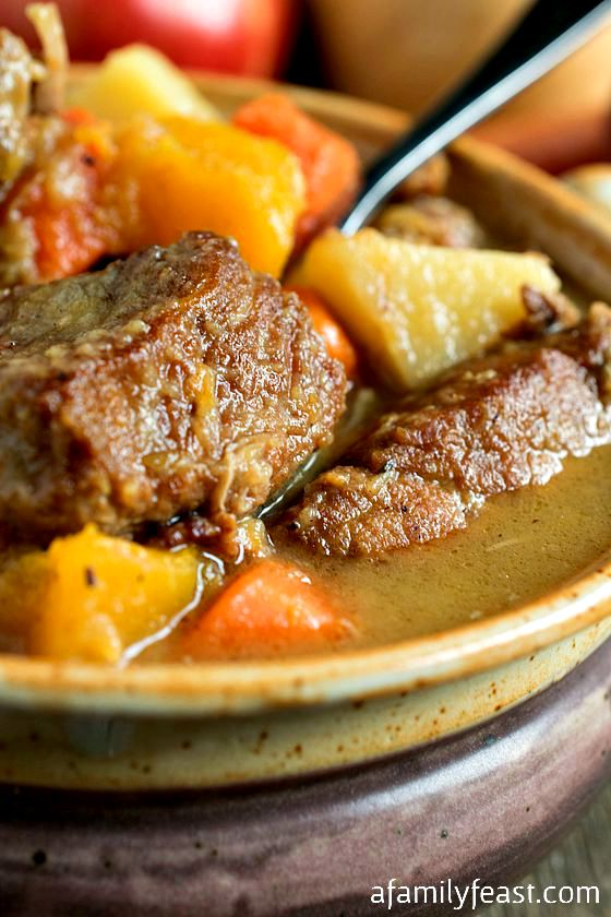 Autumn Pork Stew - A Family Feast