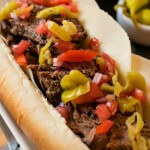 Slow Cooker Italian Beef Subs - A Family Feast