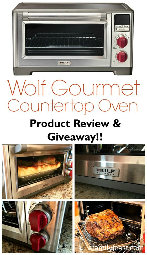 Wolf Countertop Oven Vancouver : Wolf Gourmet Countertop Oven - Product Review & Giveaway - A Family ...