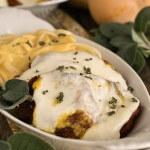 Butternut Squash Parmesan with Linguine