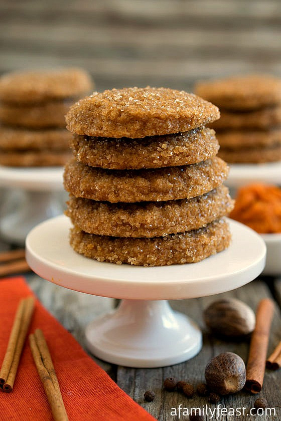 These delicious Pumpkin Spice Sugar Cookies have been waiting in the ...