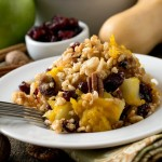 Baked Winter Squash and Apple Casserole with Crispy Topping