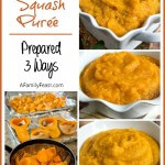 Butternut Squash Purée (Prepared 3 Ways)