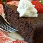 Chocolate-Bourbon Pecan Torte