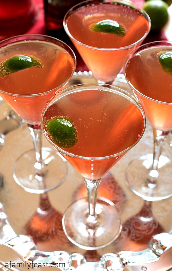 Champagne Cosmo - A Family Feast