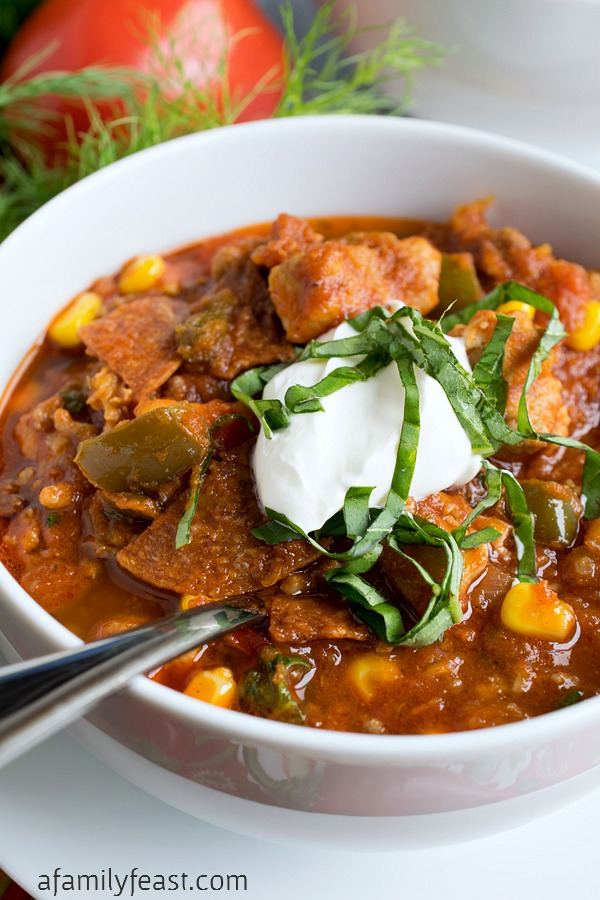 Italian Chili - A delicious reimagined twist on a classic recipe. You've got to try this fantastic chili!