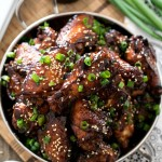 Korean Barbecue Chicken Wings