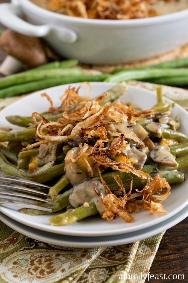 Green Bean Casserole - A Family Feast