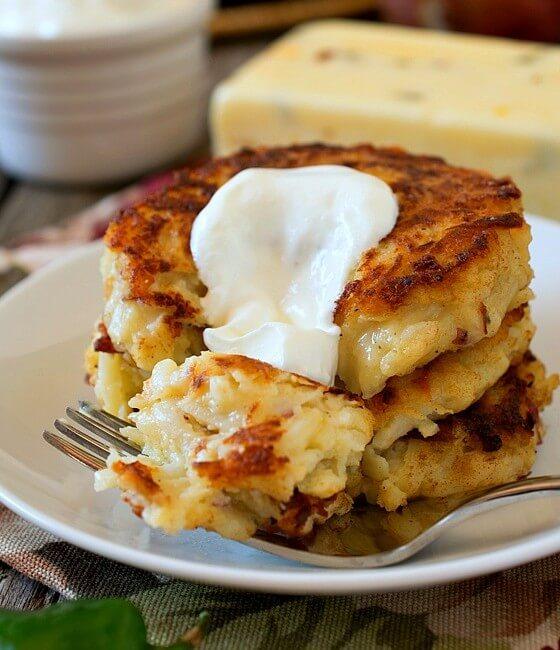 Pepper Jack Potato Pancakes