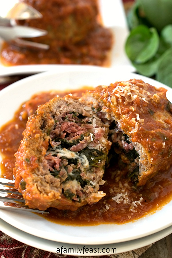 Stuffed Meatballs - A Family Feast