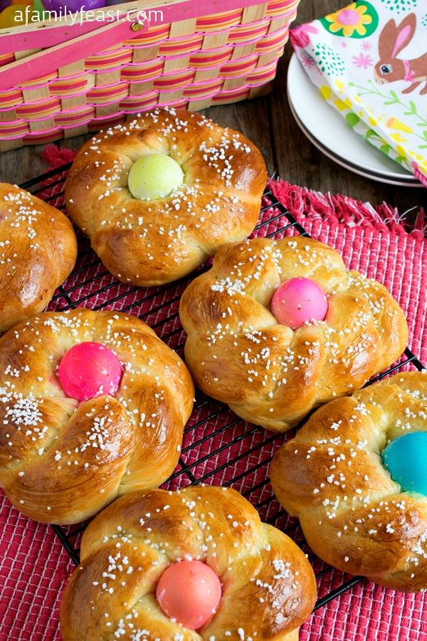 Italian Easter Bread (also known as Pane di Pasqua) is a traditional ...
