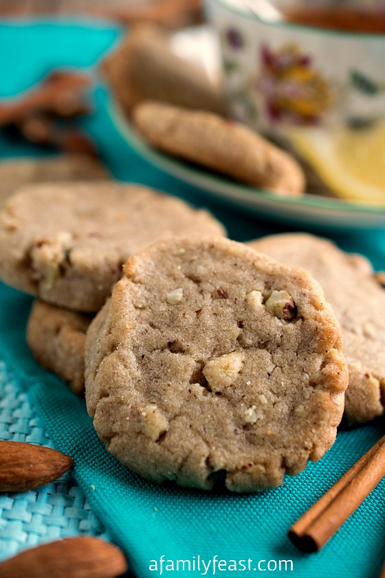 Lemon Almond Tea Cookies - A vintage cookie recipe from 1897. Perfect ...