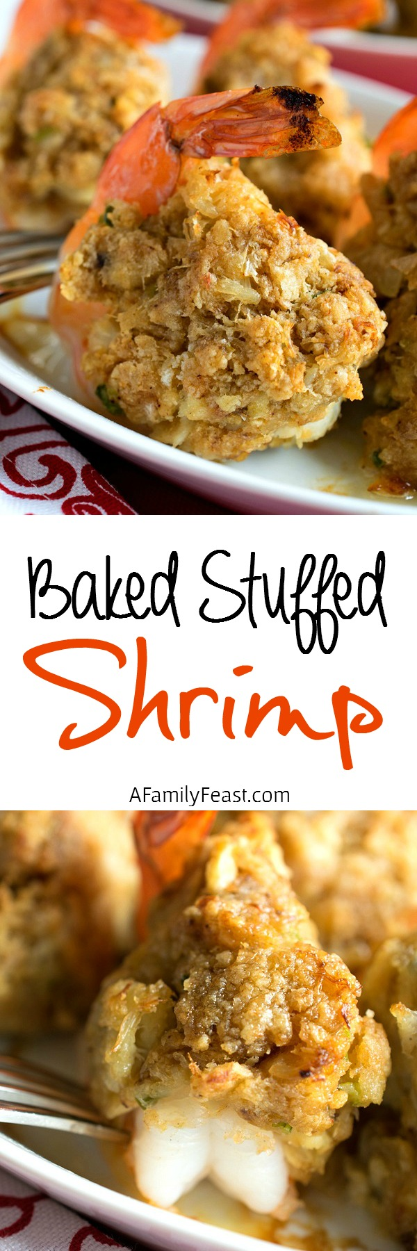 We're showing you how to make restaurant-quality Baked Stuffed Shrimp at home!